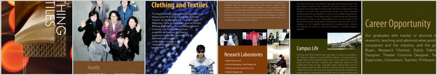Graduate Studies in Clothing and Textiles